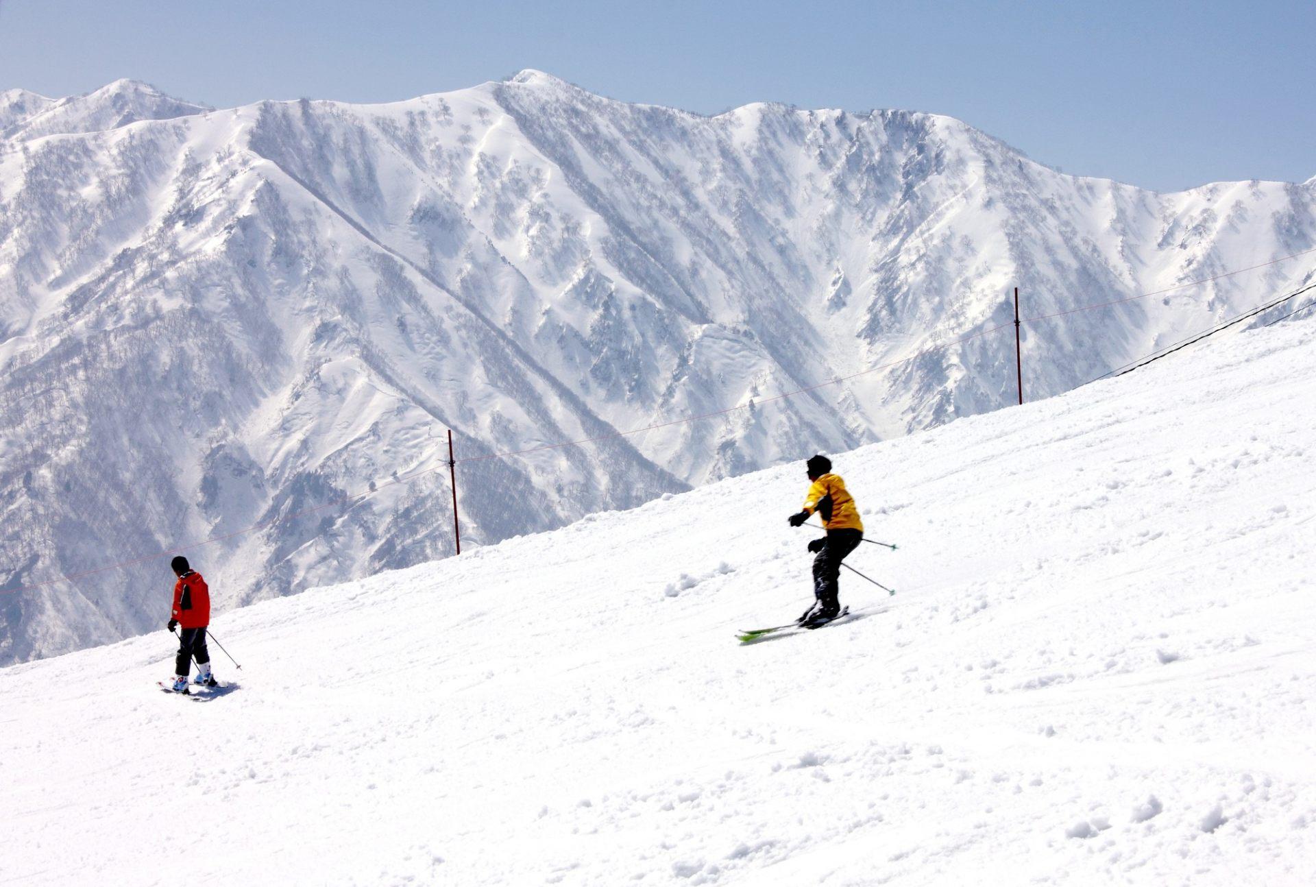 一边眺望美景一边滑行的感觉特别爽快♪