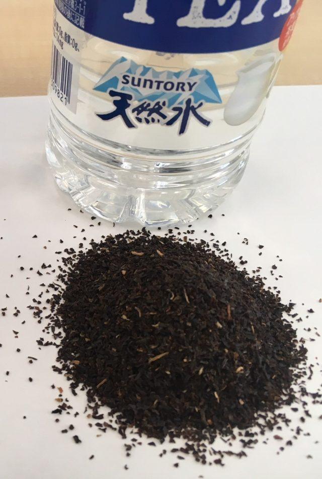 透明奶茶 使用阿薩姆茶的茶葉