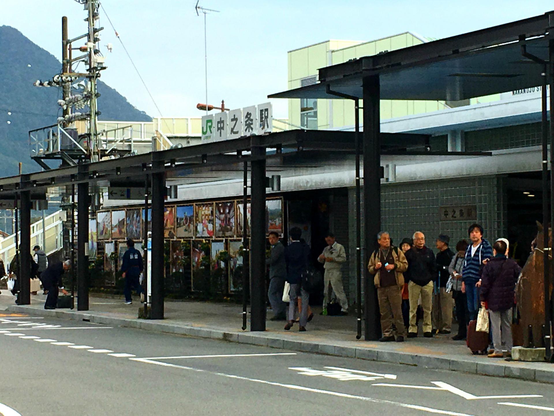 Nakanojo Station