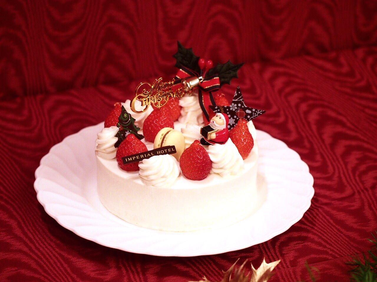 圣诞草莓蛋糕