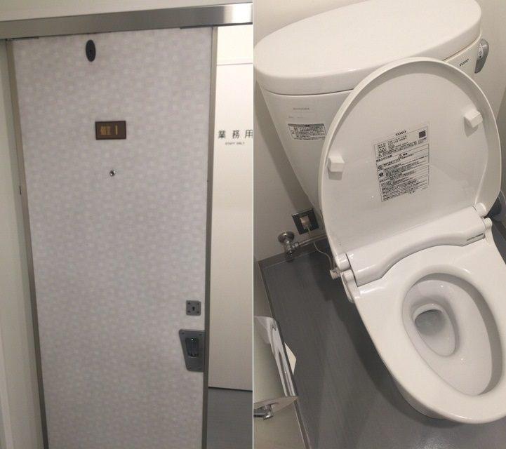 就連廁所也完美再現了北斗星號……(苦笑)