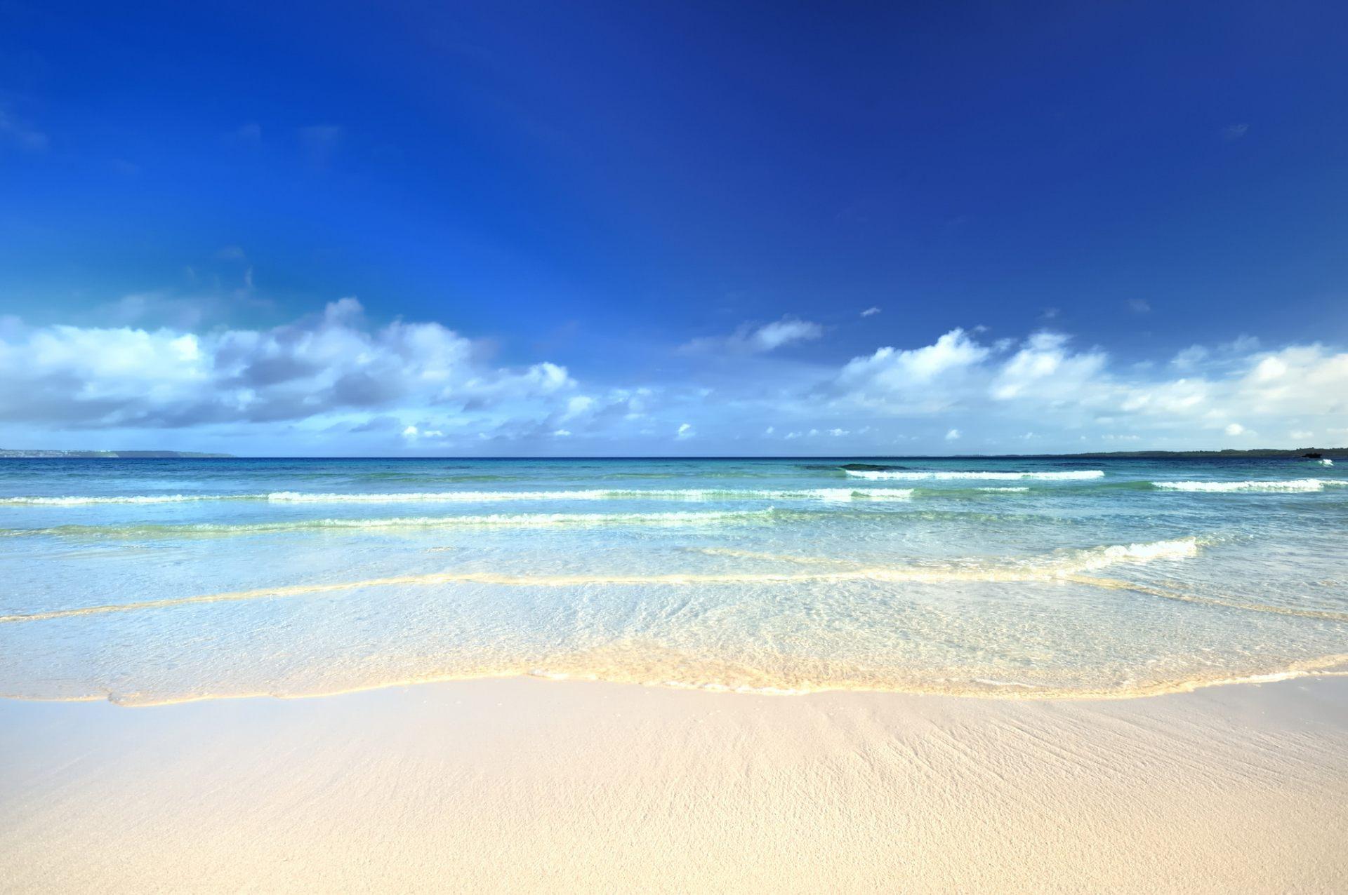 沖縄的海濱