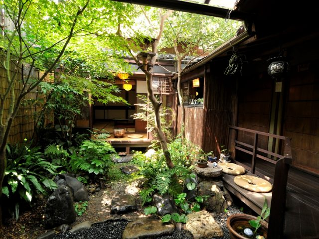 [beautiful Courtyard with Pure Japanese Style]
