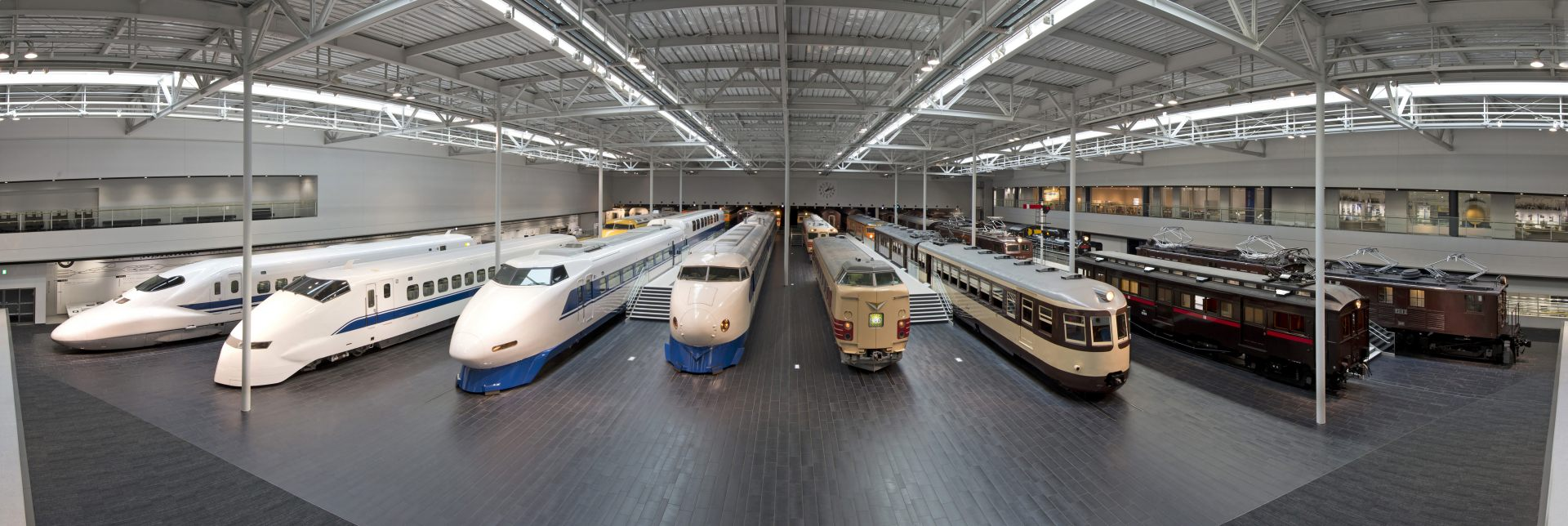The highlight is seeing the rolling stock all lined up! / Photo credit: SCMAGLEV and Railway Park