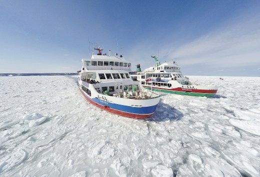 冬天的北海道东部魅力多多!介绍大自然创造出的艺术作品「流冰」♪