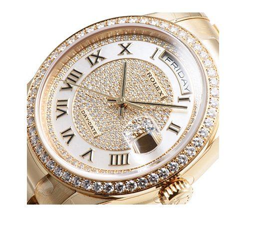 越看越华丽的手表表头