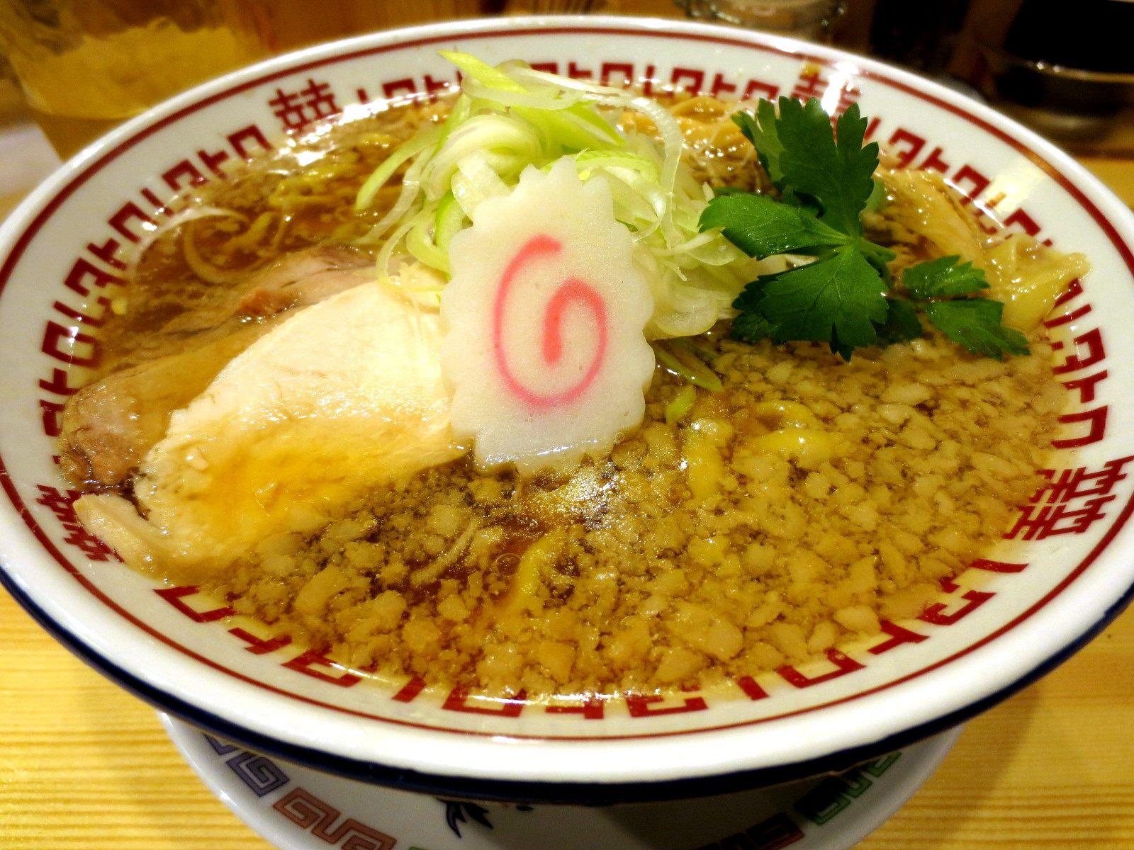 Wahaha Niboshi Soba 750 yen