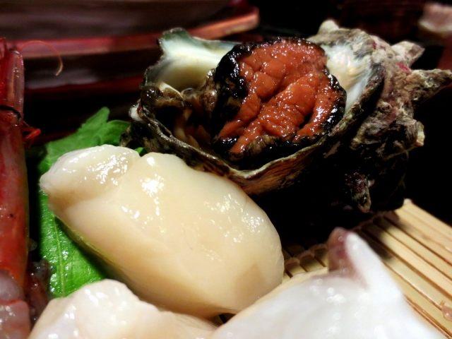扇貝肉、角蠑螺肉