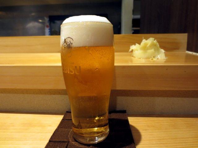 惠比寿生啤酒(小)280日圆