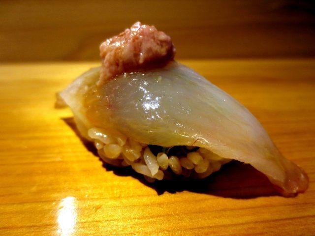 皮剥Kawahagi 寿司