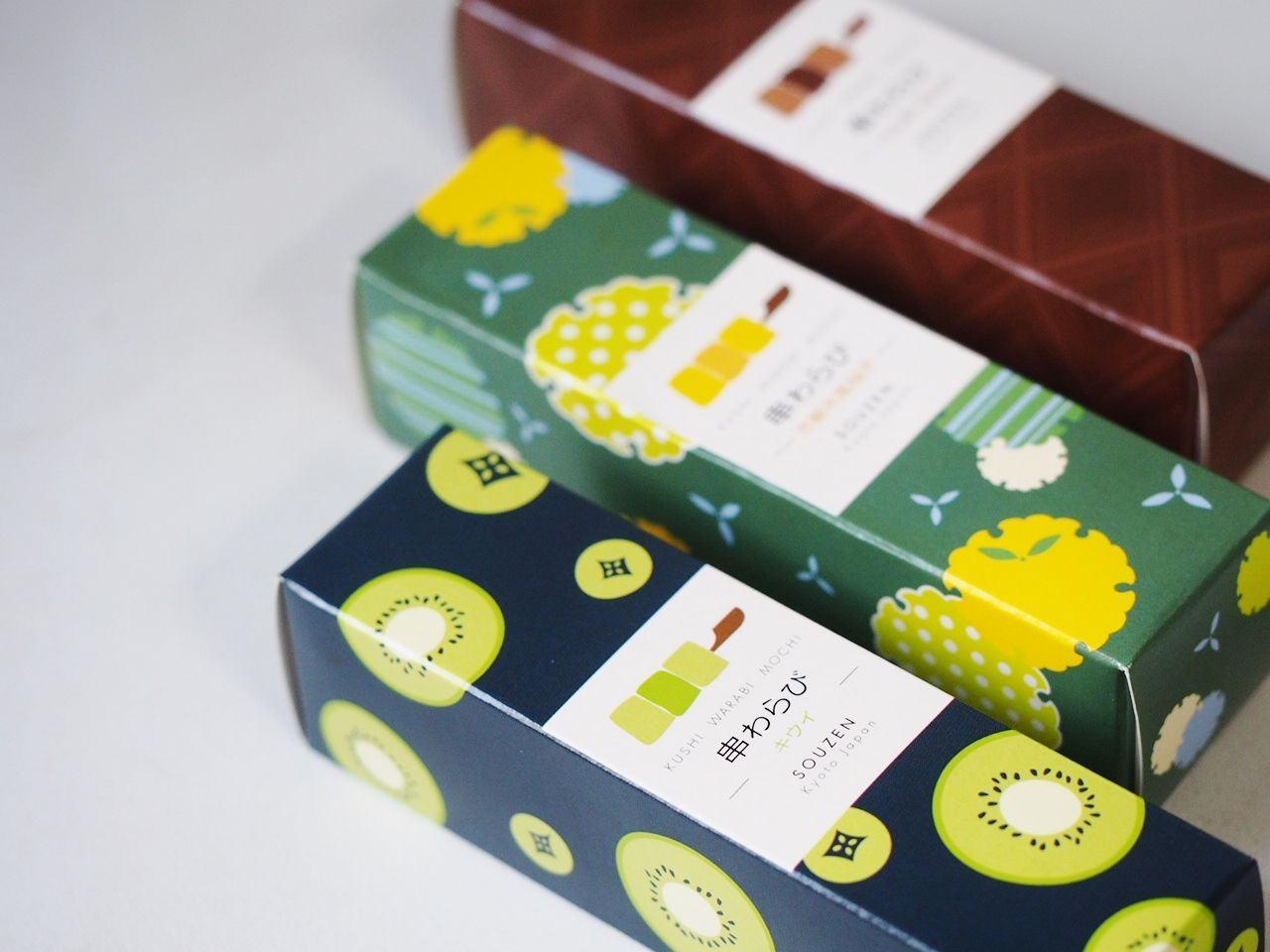 蕨餅串 外盒包裝