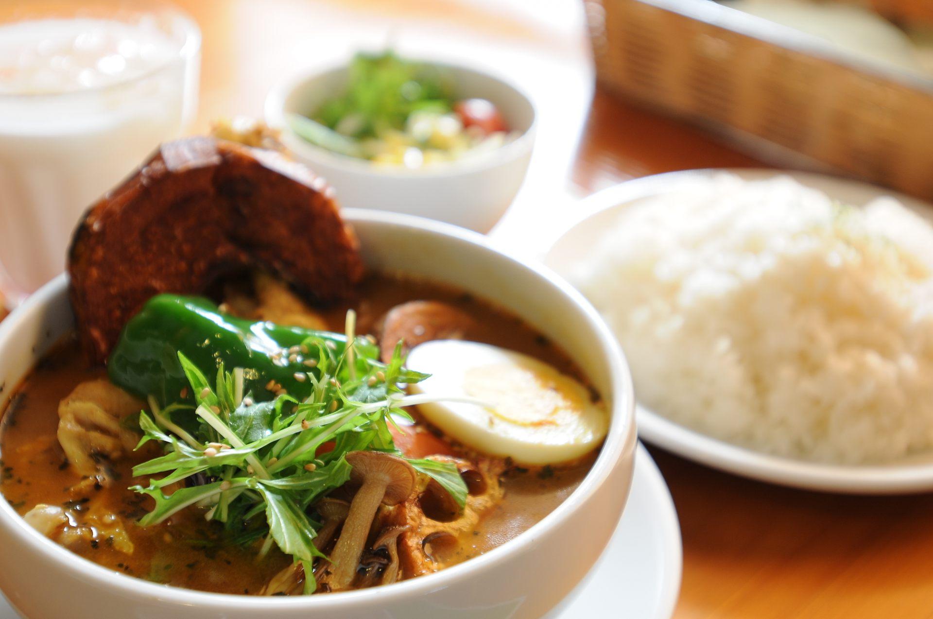 札幌名产汤咖喱