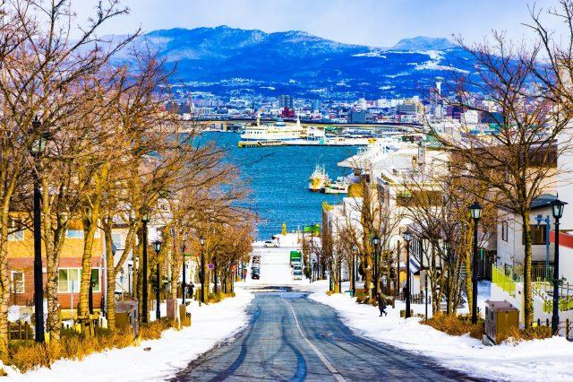 冬日函馆之旅【第一天】 ~游览函馆早市、湾区、元町~