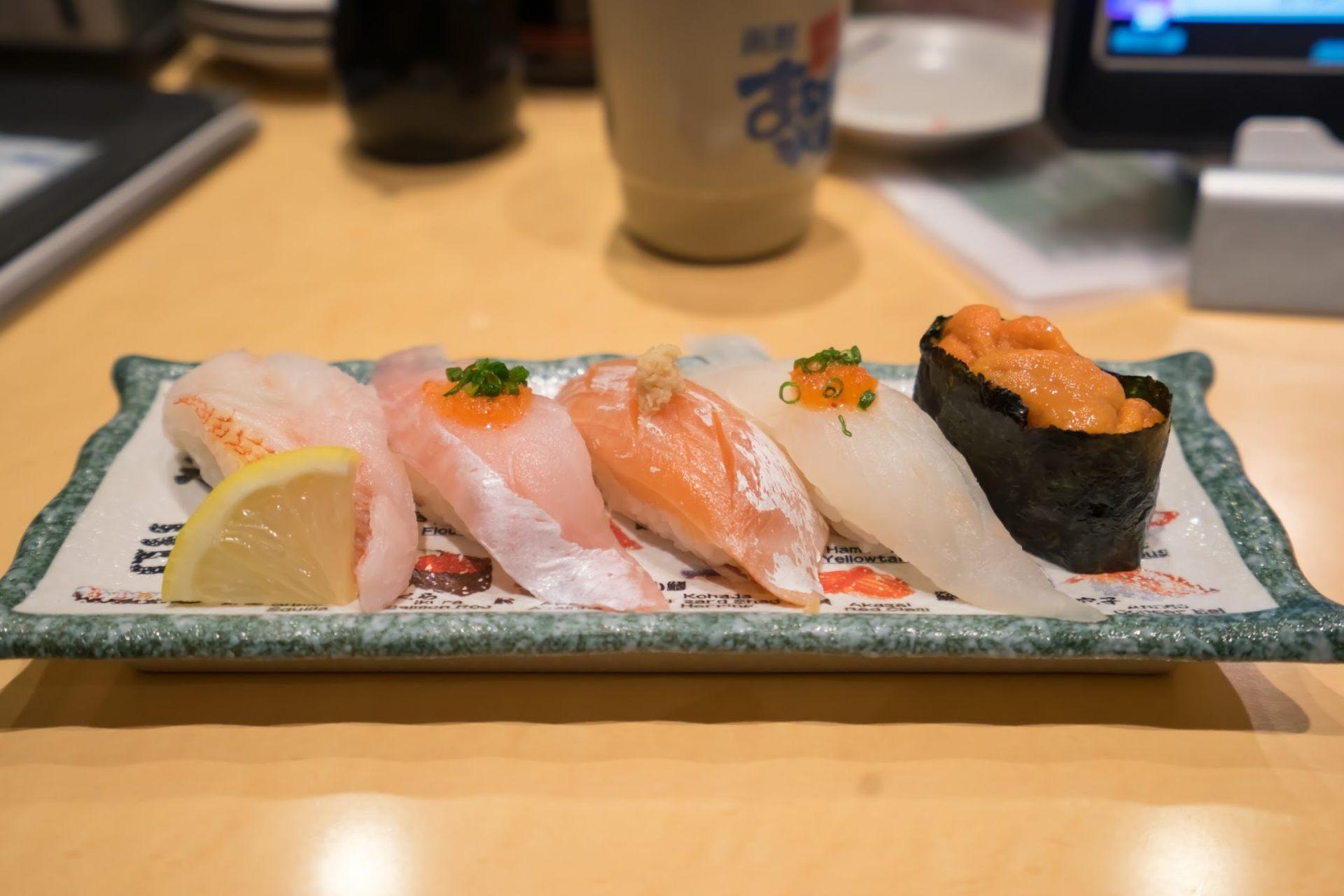 特制5贯握寿司拼盘