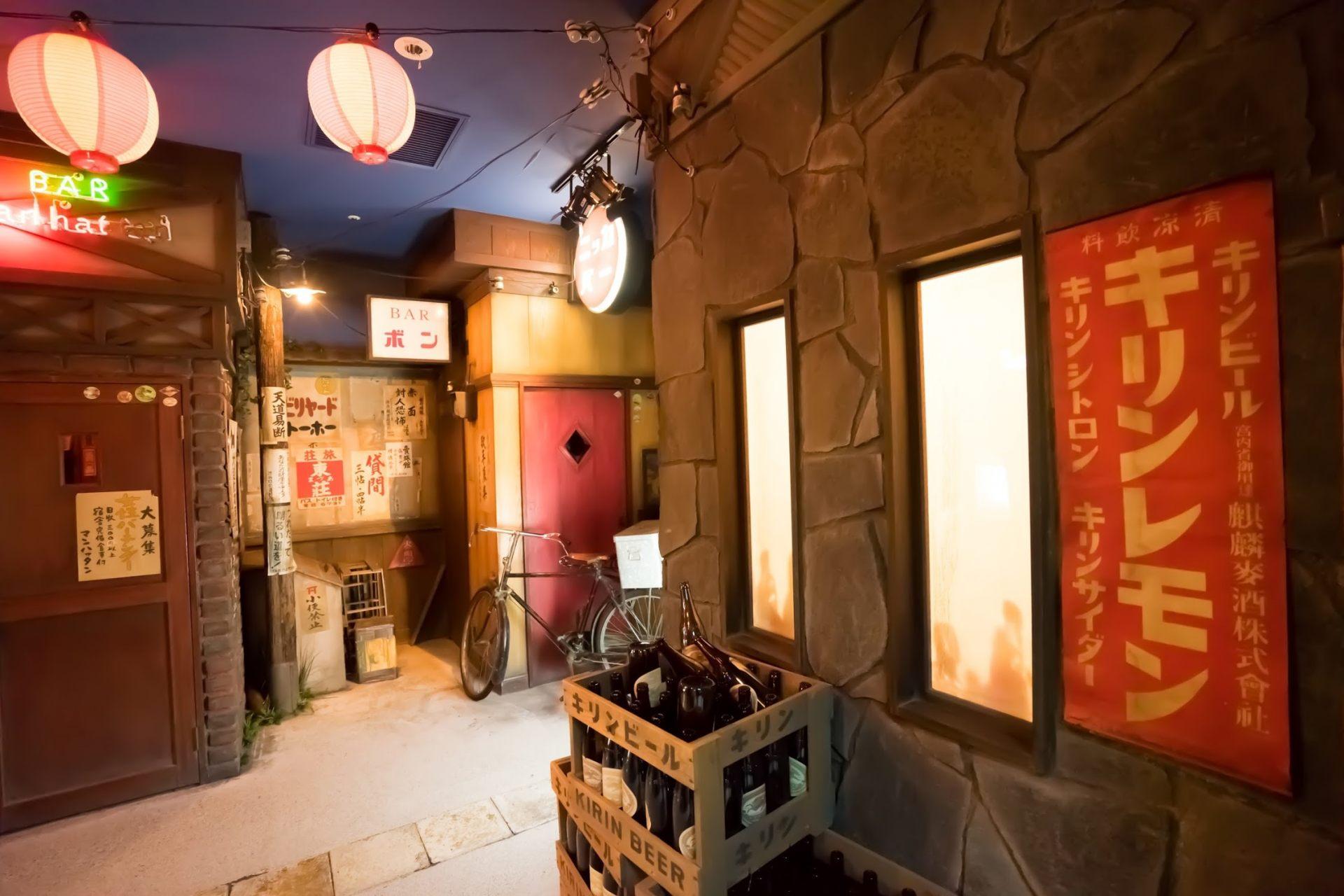 再現北島三郎出道前澀谷橫丁當時的模樣
