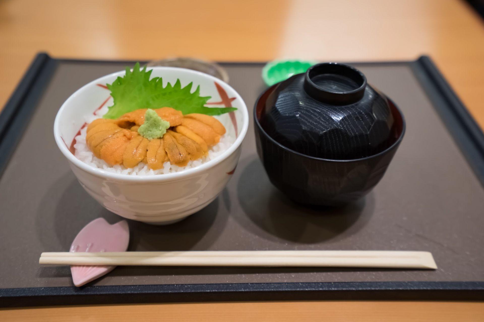 无添加物生海胆丼饭 S size