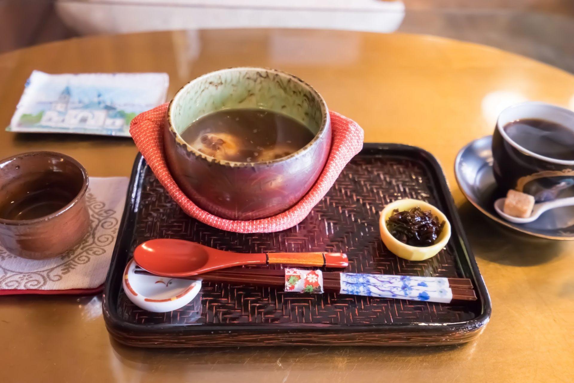 紅豆湯麻糬SET(1230日圓)