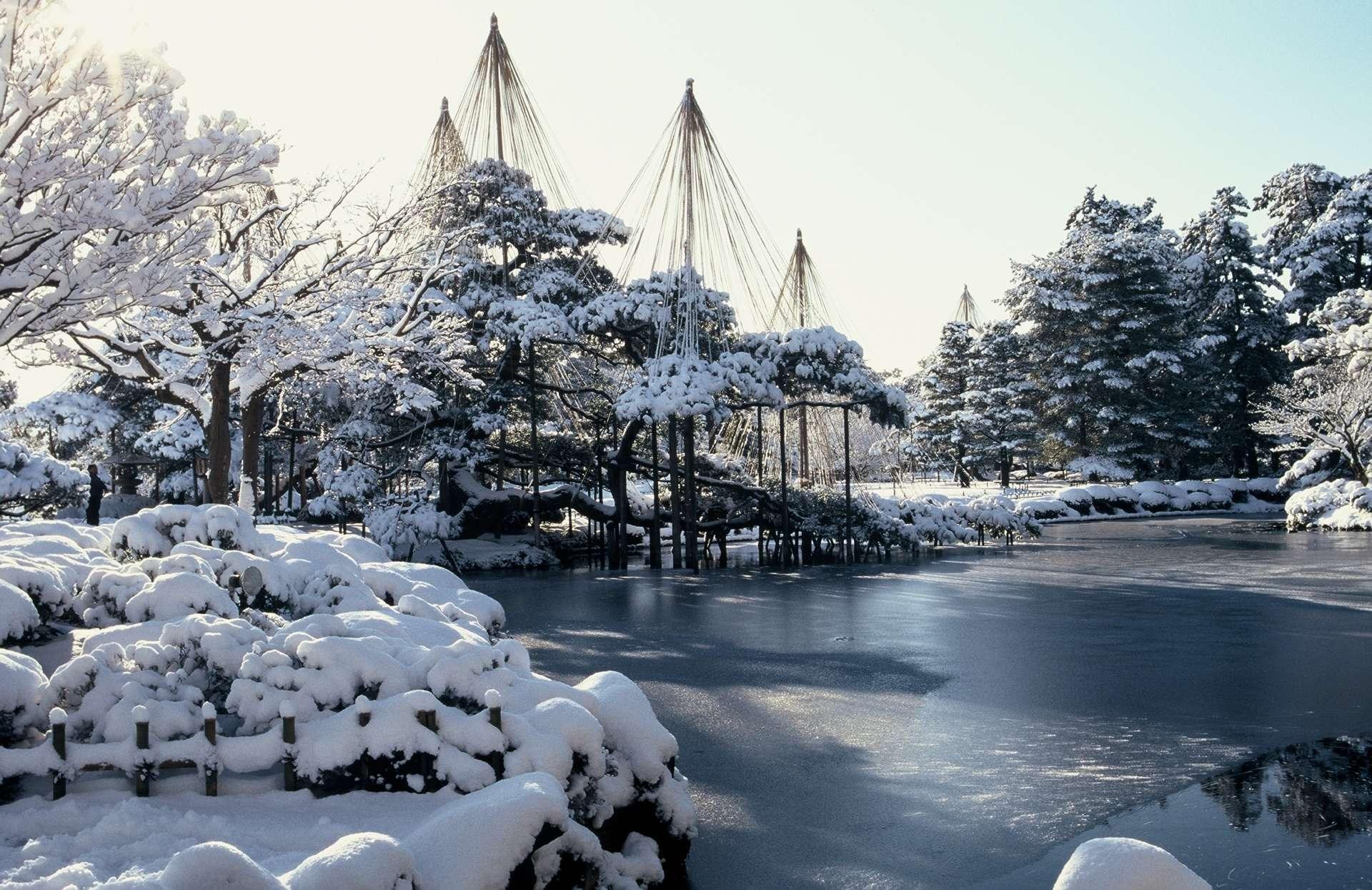 Kenrokuen Garden, beautiful in each and every season