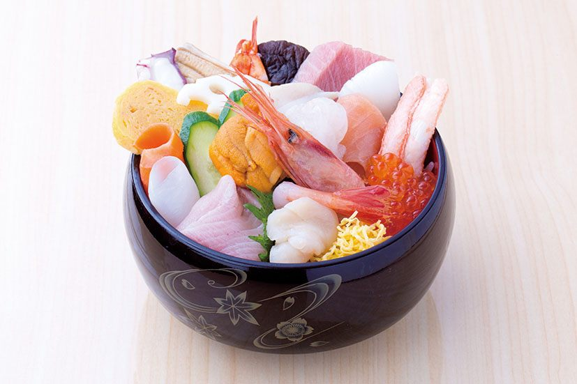 The cheap and tasty seafood rice bowl
