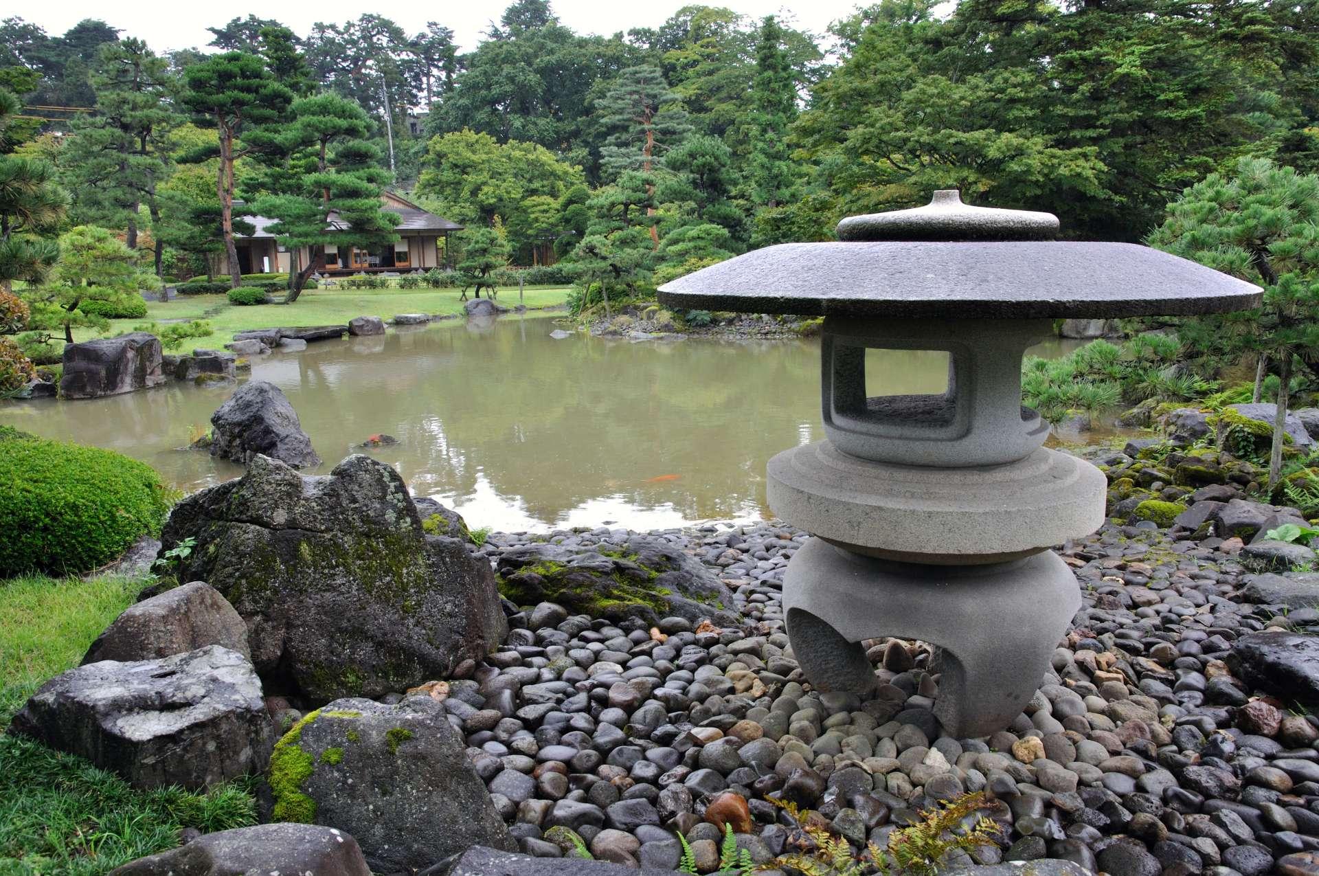 能邊散步邊享受有著日本風情的景觀