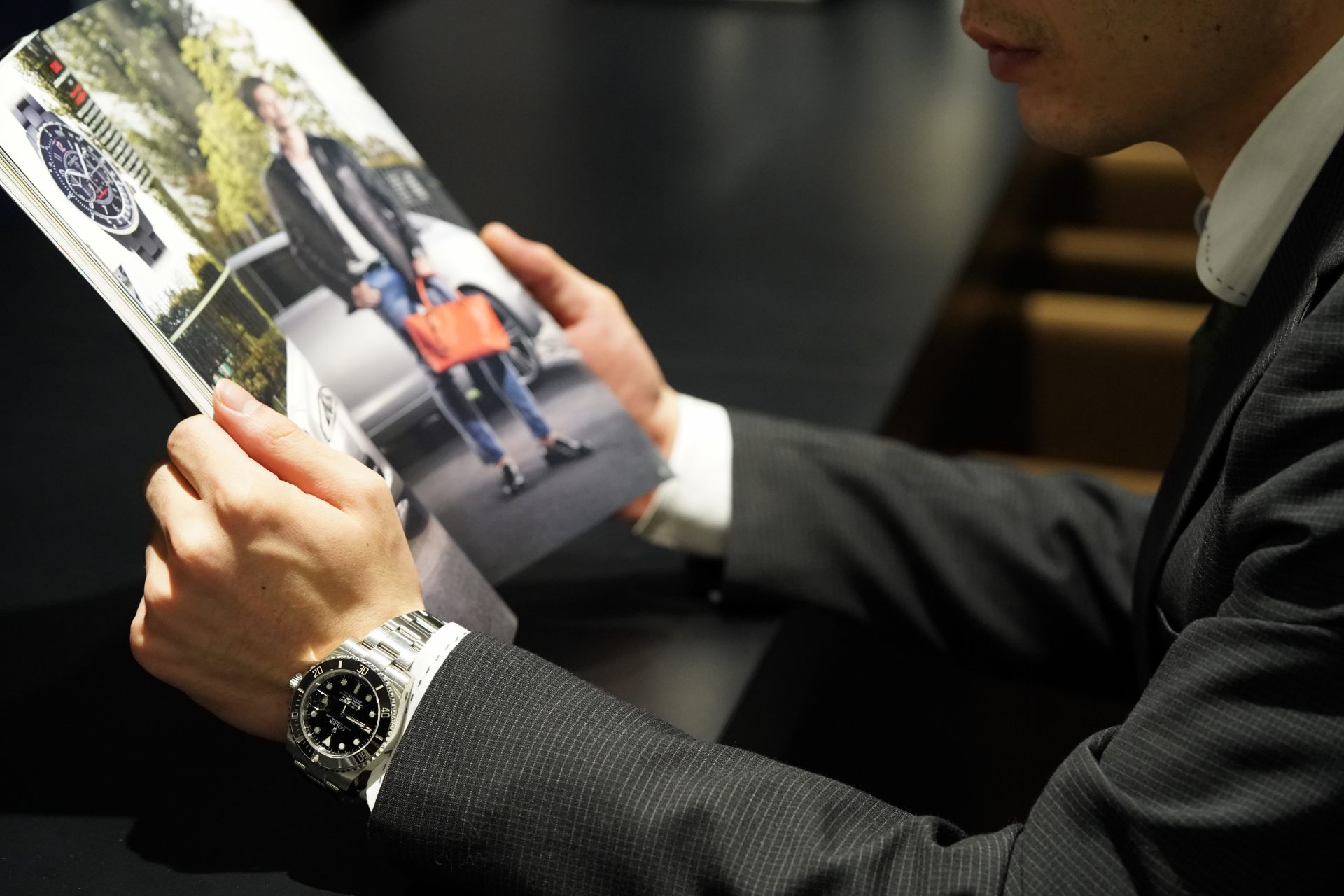 在日本店家中販賣的高級名錶不會有仿冒品