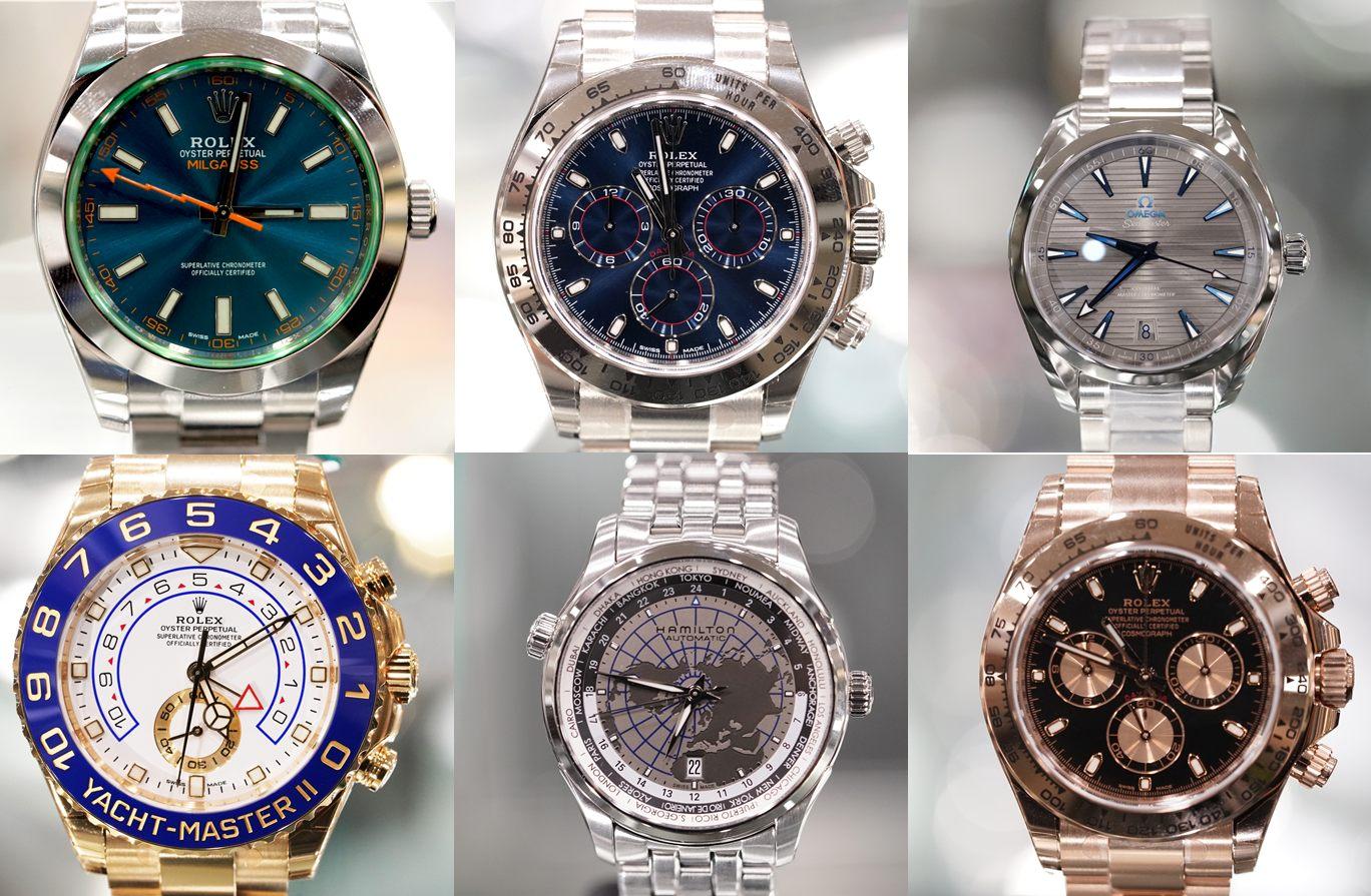 日本集結了世界各地的高級名錶