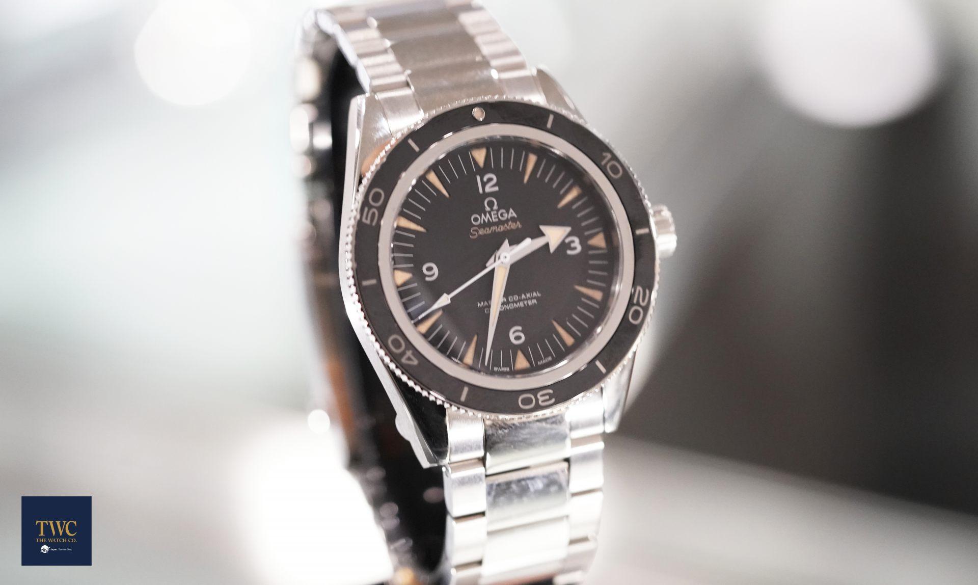 海馬300大師同軸擒縱腕錶