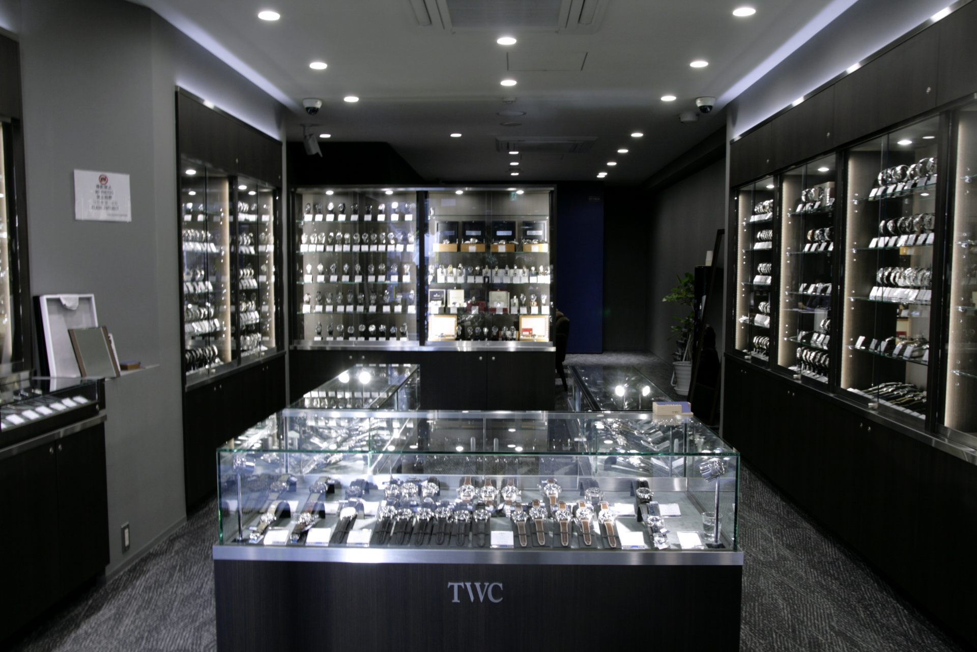 TWC THE WATCH COMPANY 店内
