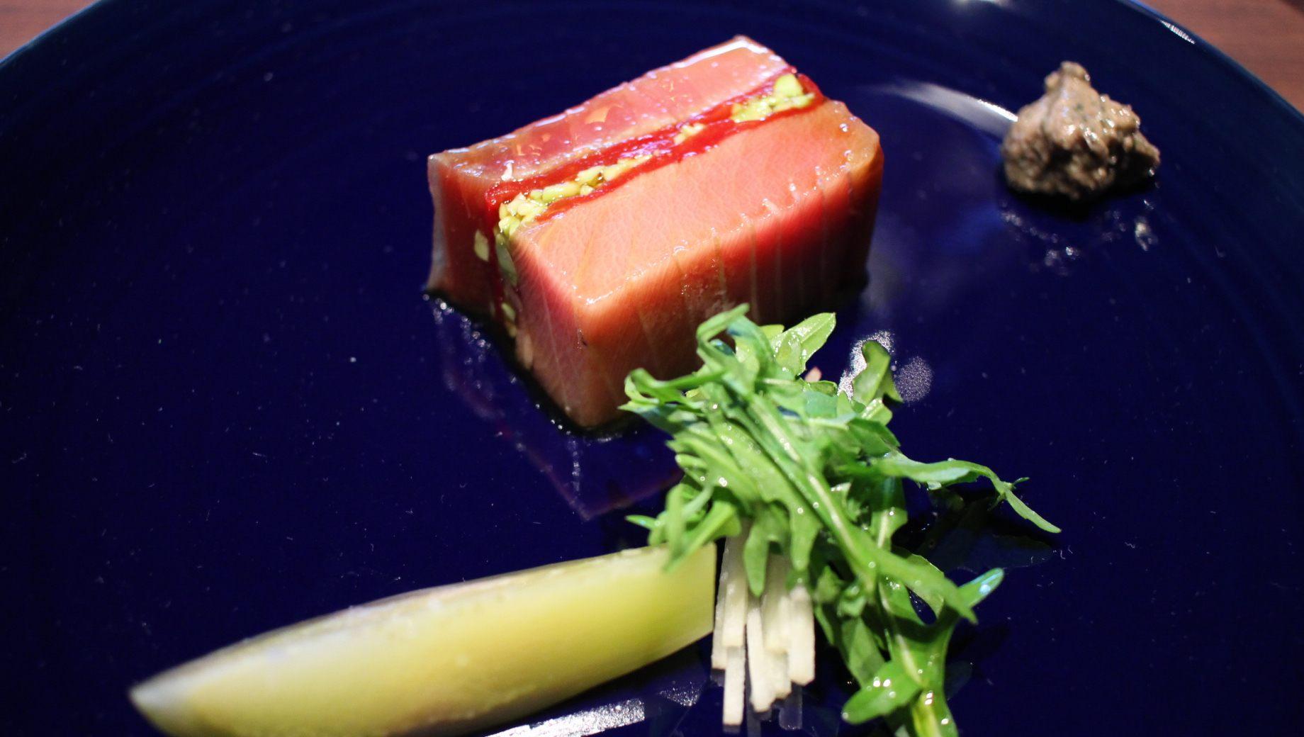 前菜-鲔鱼腹Puresse