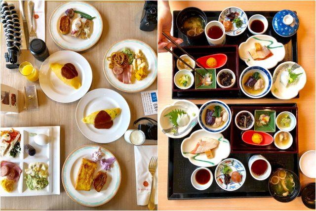 可以享用西式、或日式早餐Buffet
