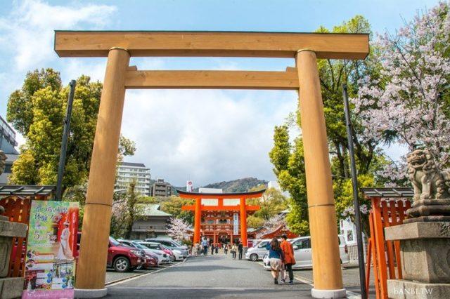 神戶旅遊景點-戀愛神社的生田神社