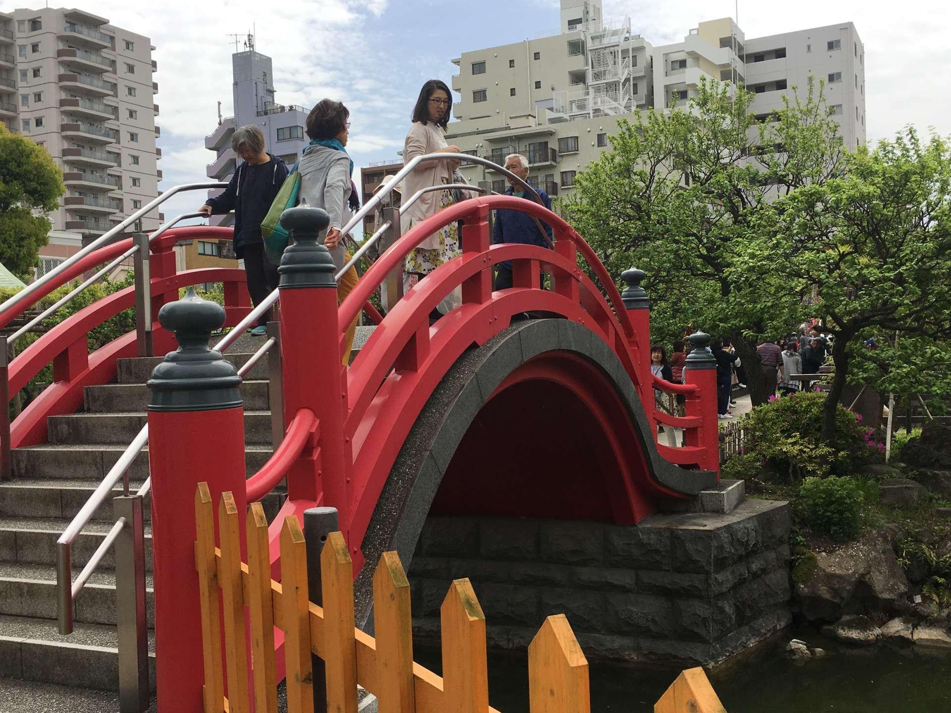 朱红的太鼓桥