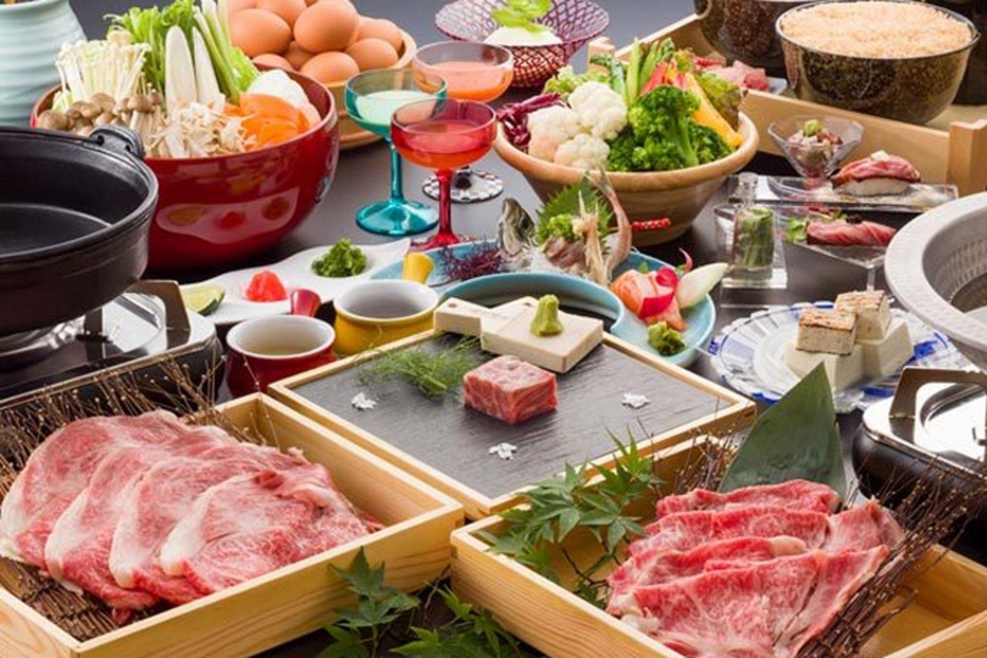Shizuoka Wagyu Beef Kaiseki (Year-Round, 20 Meals Per Day)