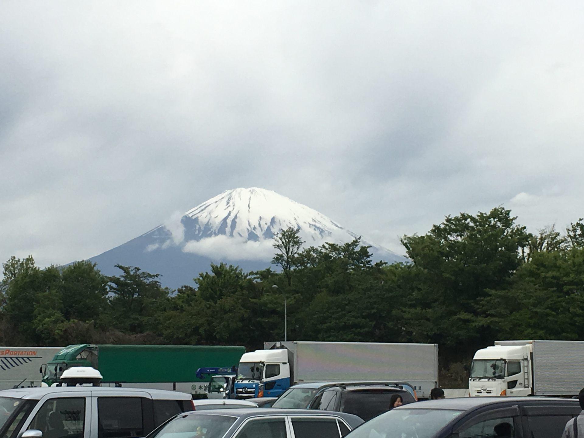 深遠又神秘莫測的富士山