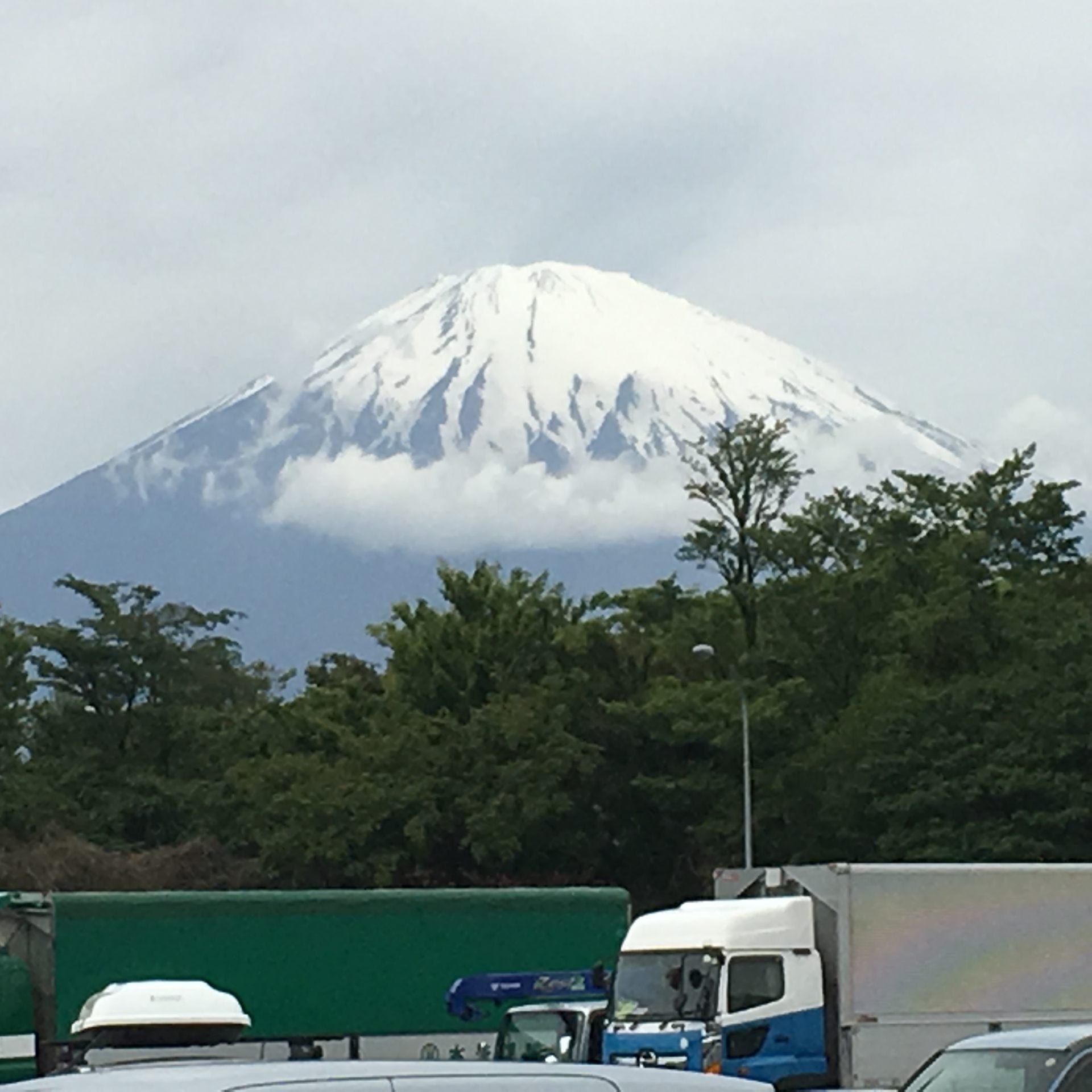 壯觀的富士山近在咫尺