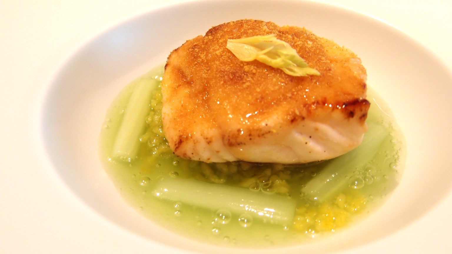 咖喱风味的鳕鱼