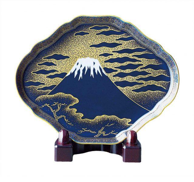 富士绘・装饰盘(¥21,600)