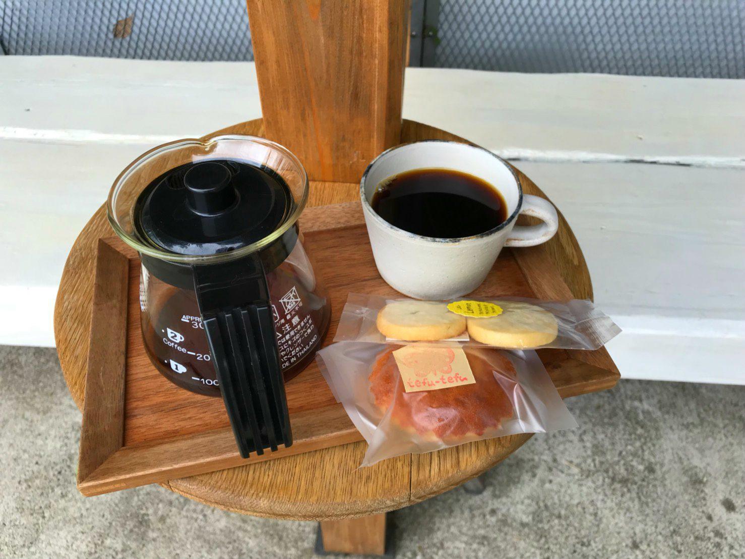 咖啡和小點心