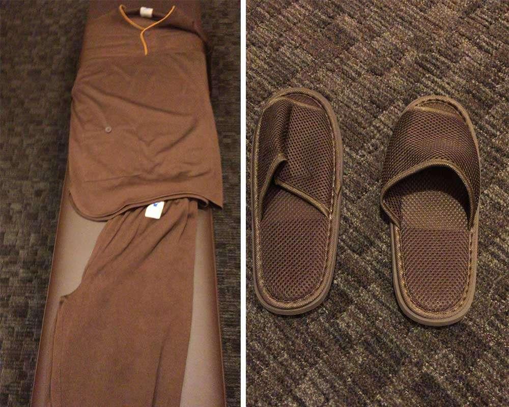 館內服、拖鞋