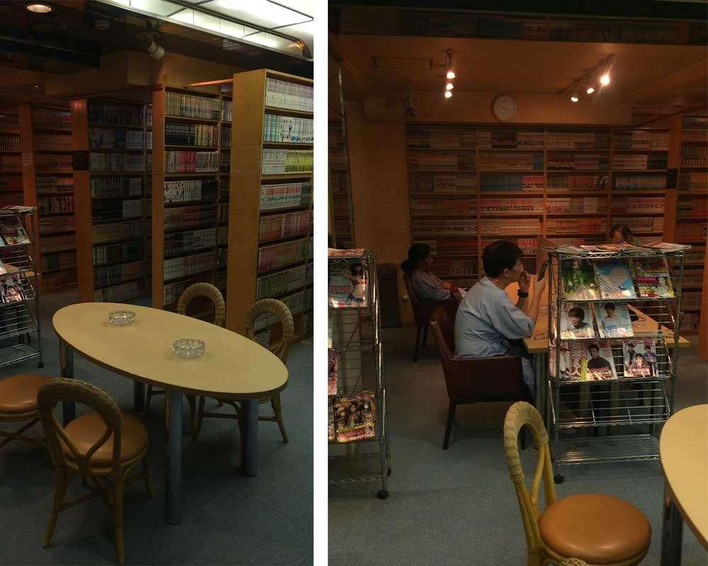 漫画阅读房