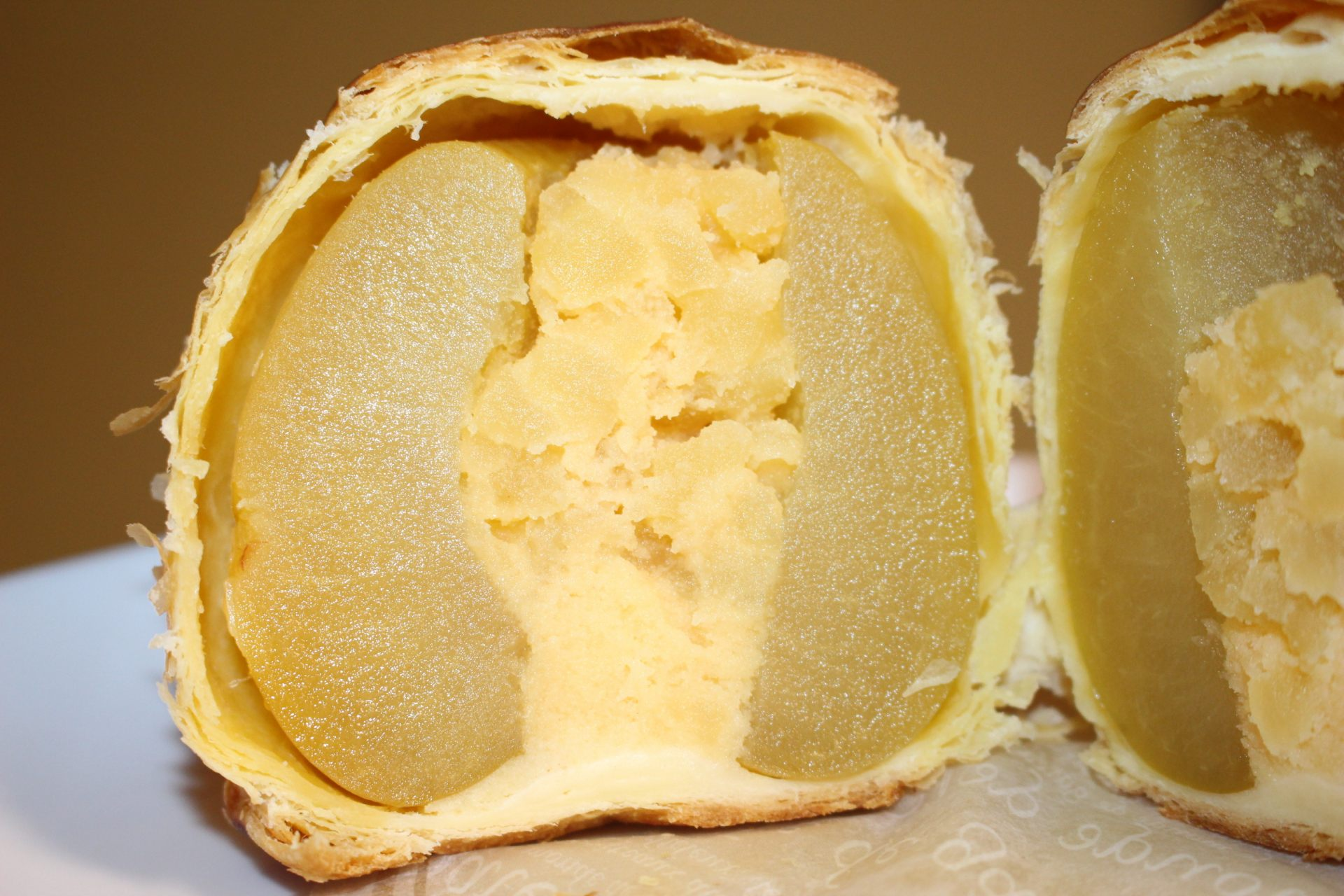 The cross-section view