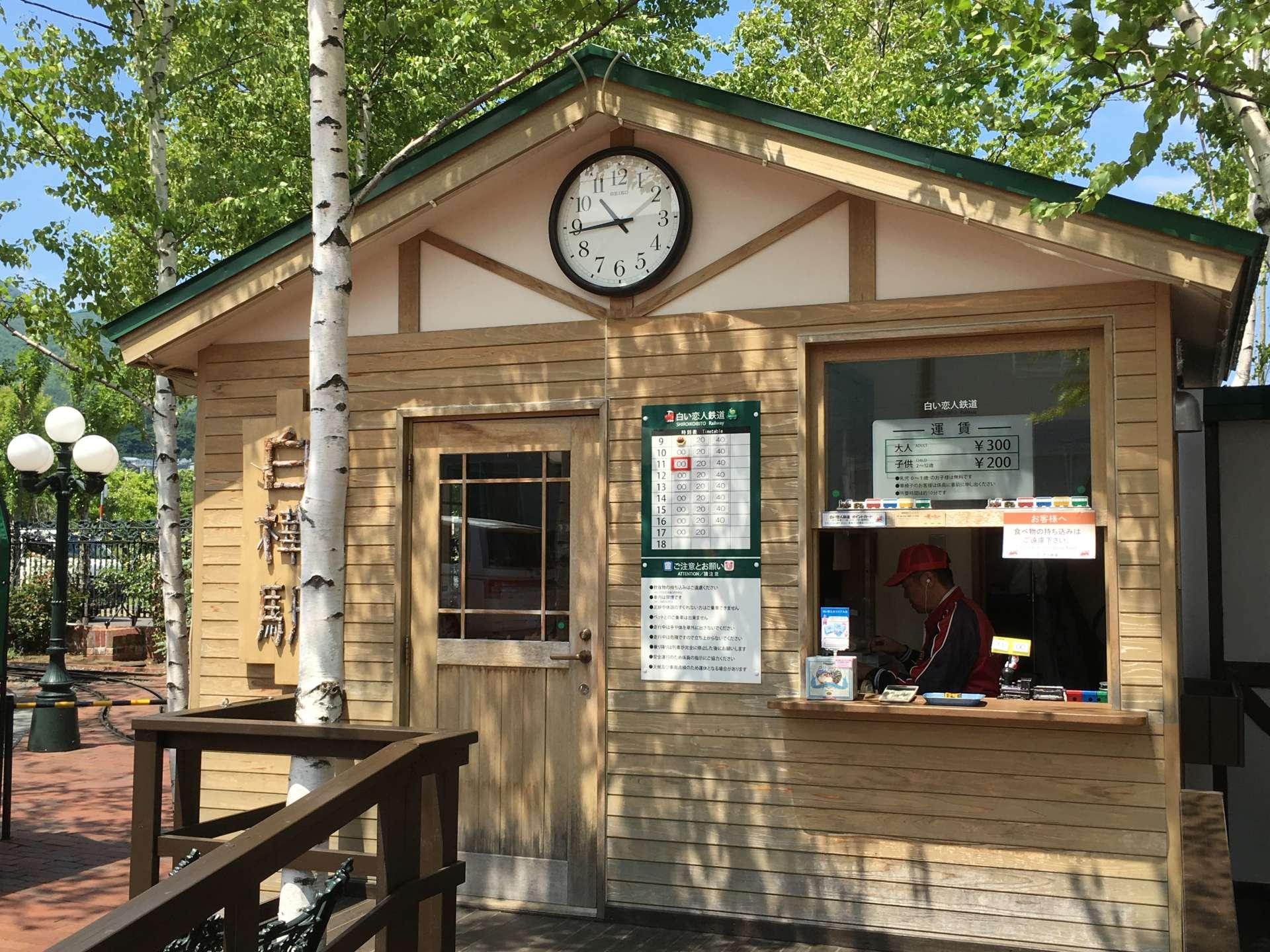 Shirakaba (White Birch) Station