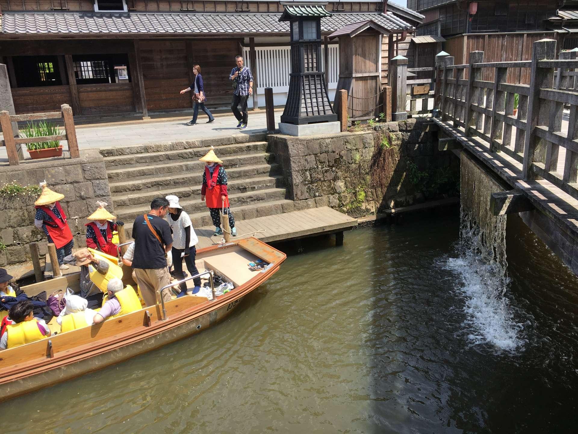 被選為「日本音風景百選」之一的落水聲