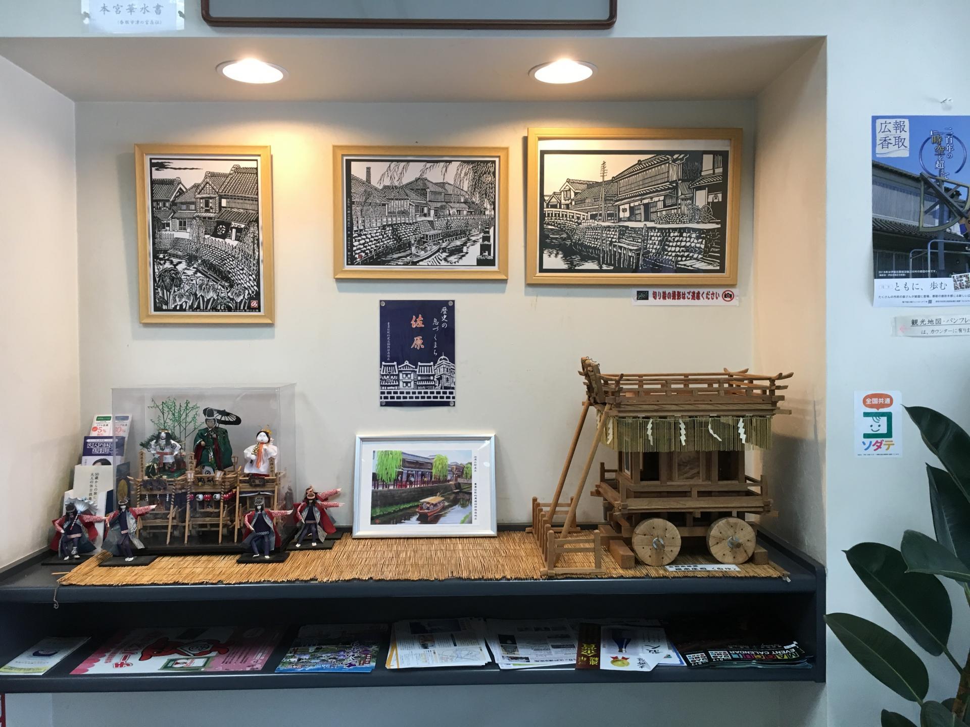 館中也有許多「佐原」的黑白珍貴歷史照片