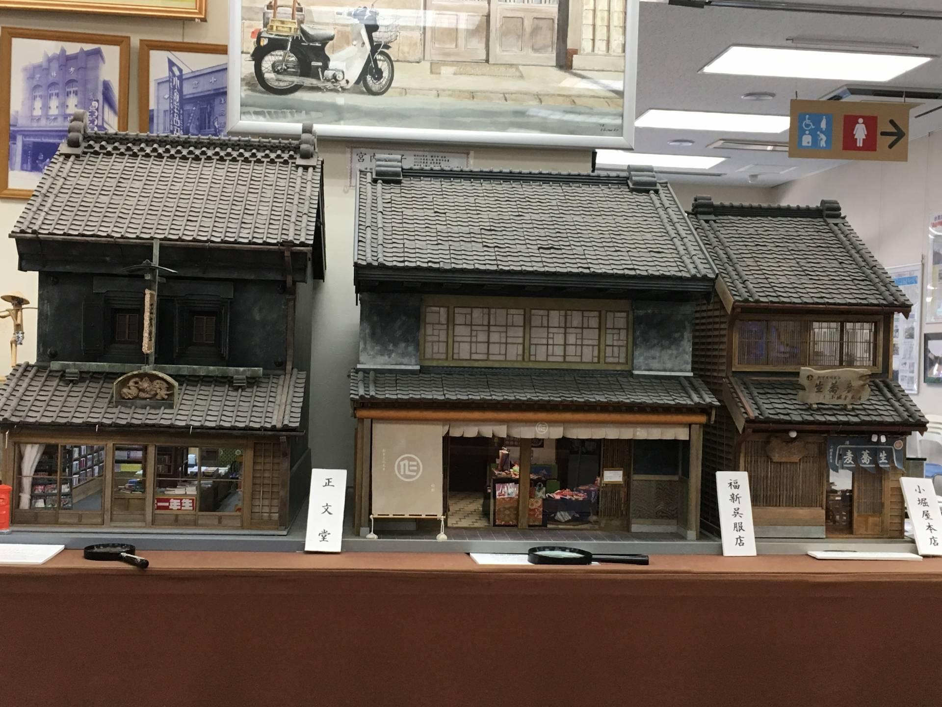 老建物的袖珍模型