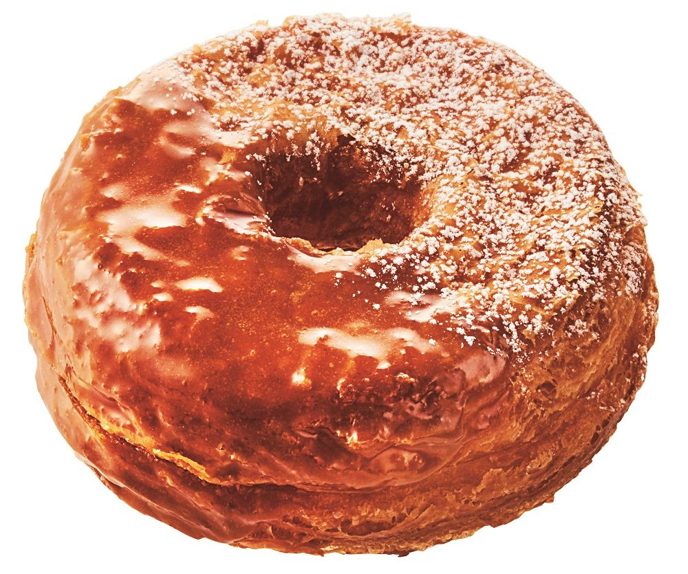 The Maple Custard Croissant Donut  (¥162)