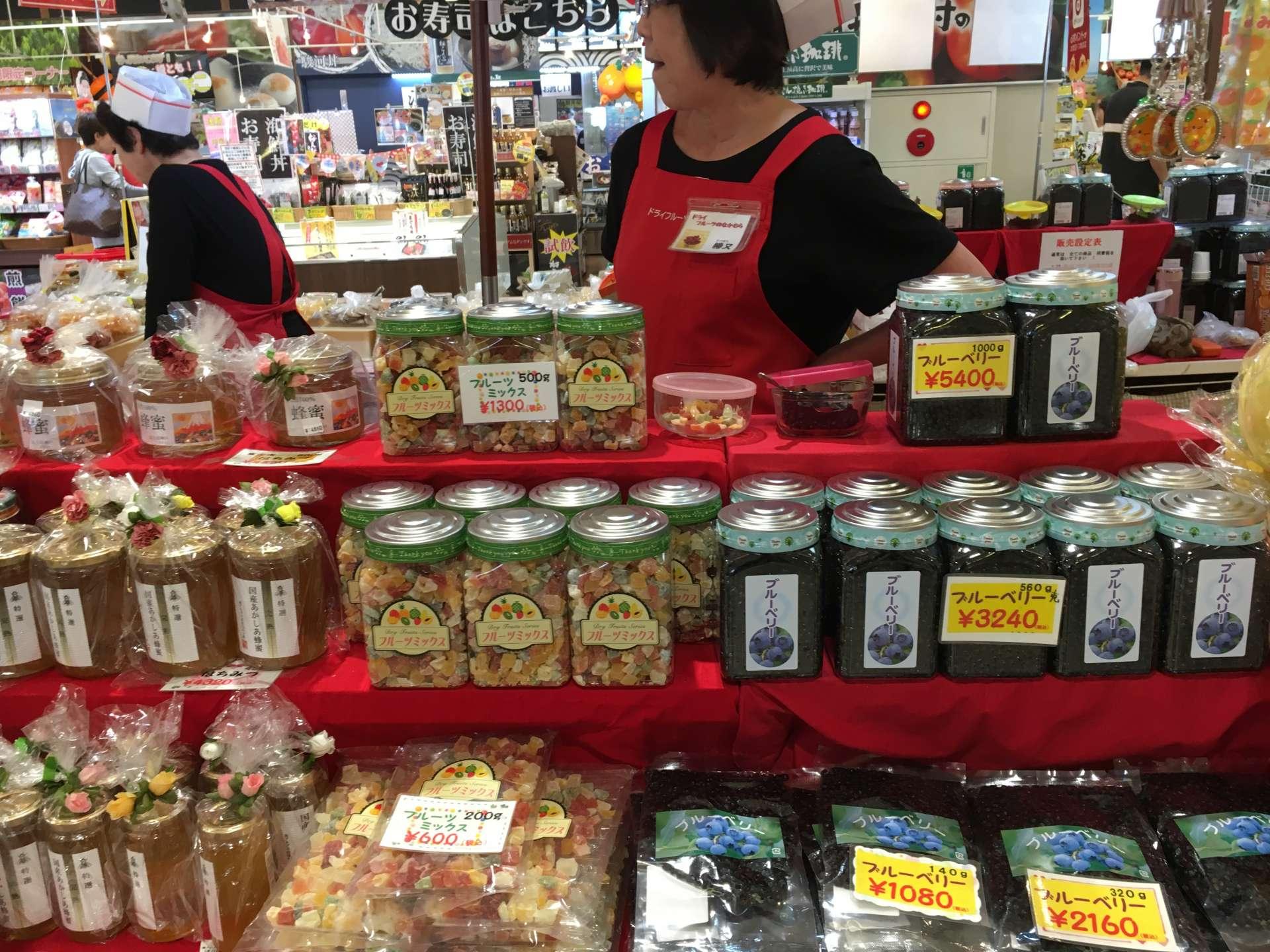 静冈县特有的各种商品