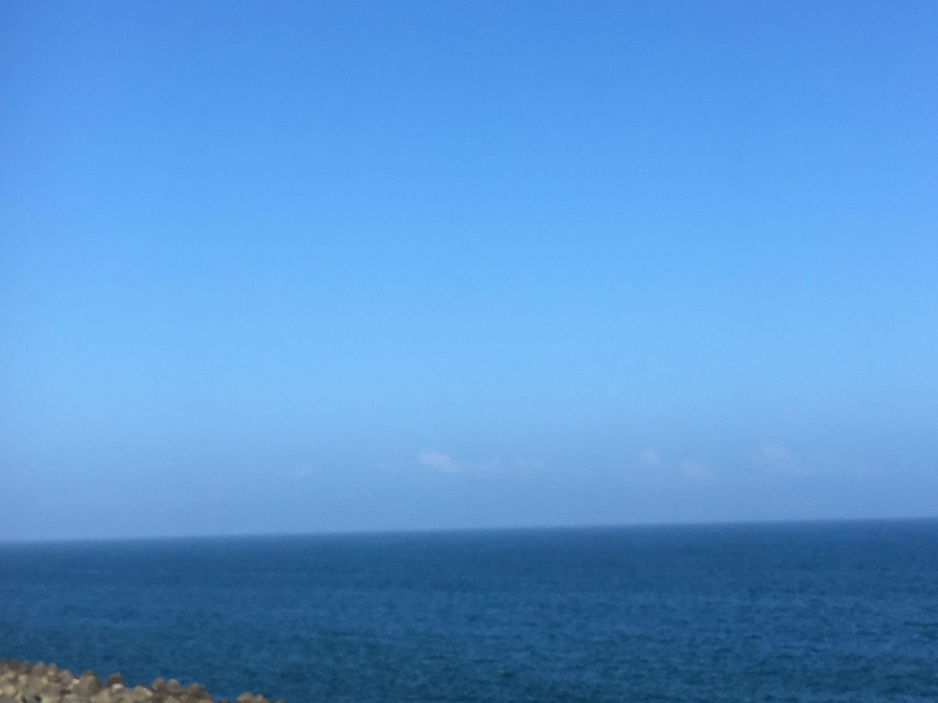 一望無際的太平洋