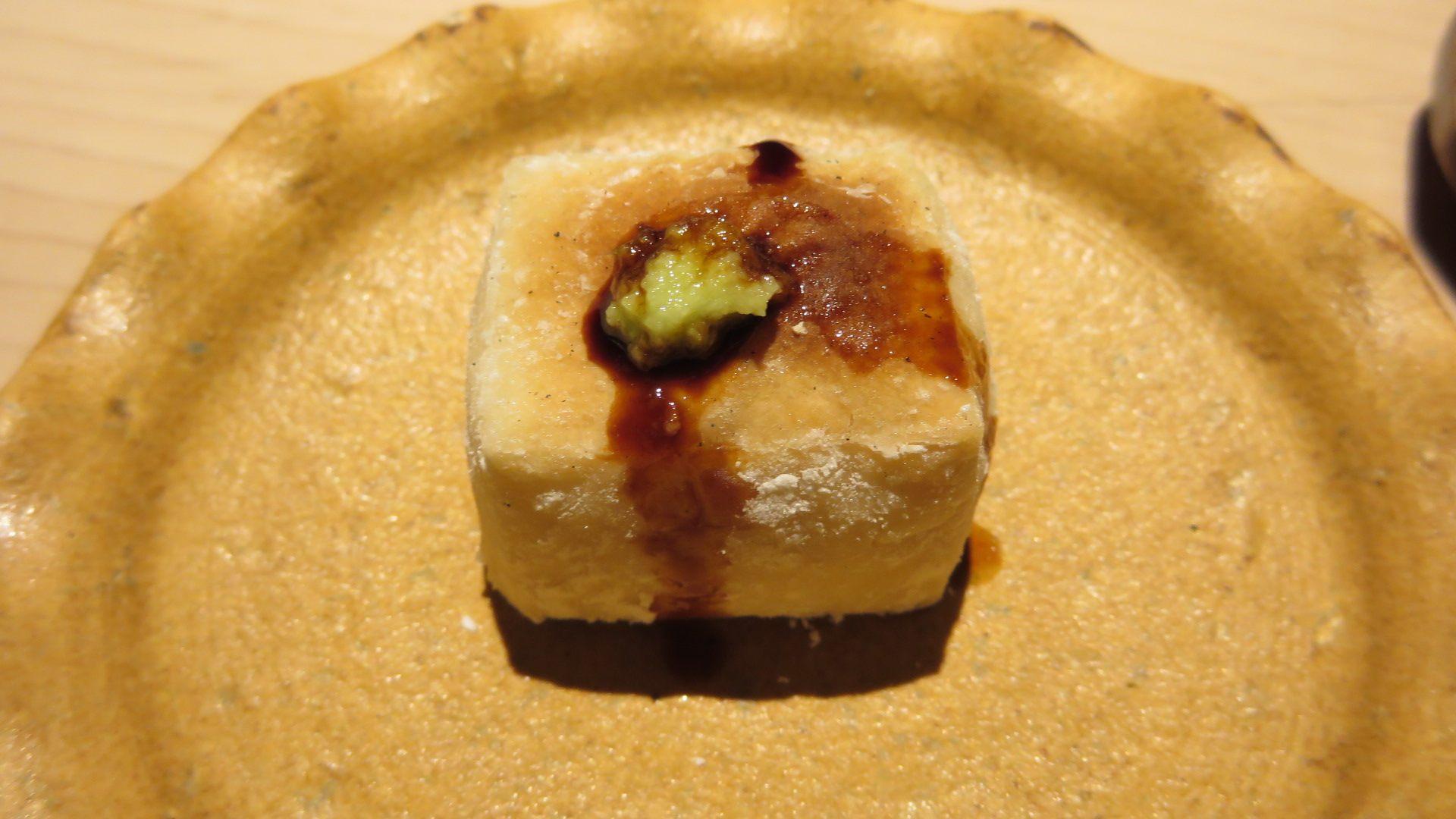 烤芝麻豆腐