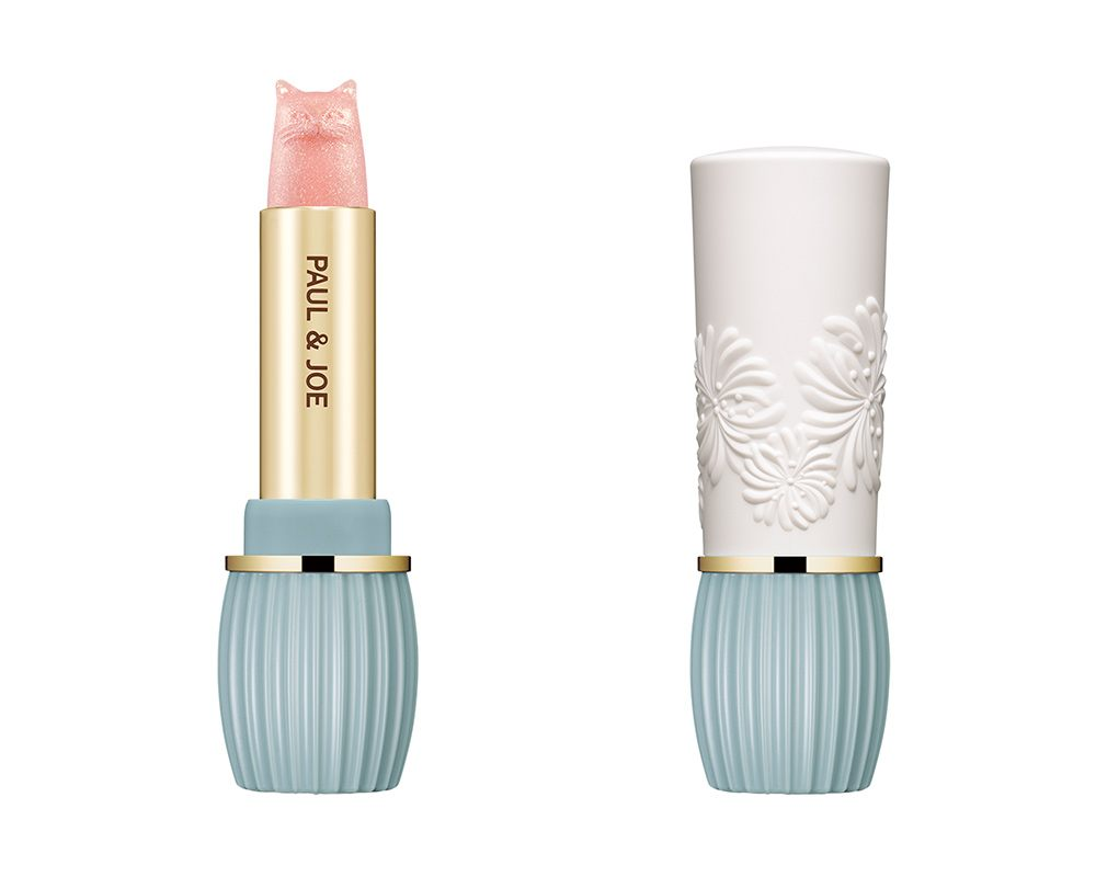 (Left) PEARL LIPSTICK 2,160 yen (Case sold separately); (Right) LIPSTICK CASE N 1,080 yen